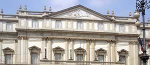 <p>La Scala di Milano</p>