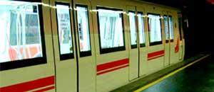 <p>Un vagone della metro</p>