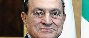 <p>Hosni Mubarak</p>