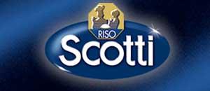 <p>Il logo del riso Scotti</p>