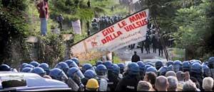Manifestazione No Tav Val di Susa