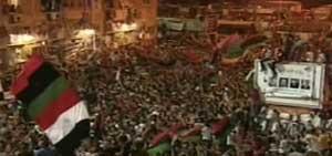 <p>Libia - I ribelli a Tripoli</p>
