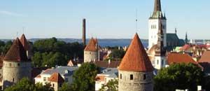 <p>Tallin, la capitale dell'Estonia</p>