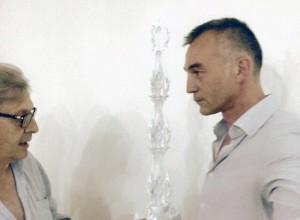 Vittorio Sgarbi e Raffaele Acenzi