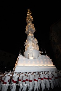 Macchina di santa Rosa - Gloria